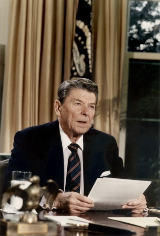 Reagan on Challenger disaster C